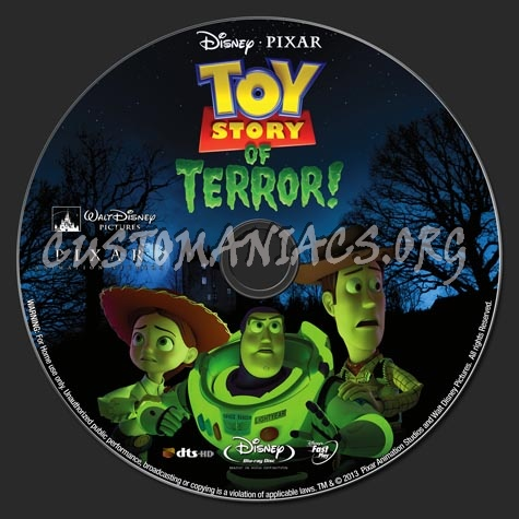 Toy Story of Terror 2013 blu-ray label - DVD Covers ...