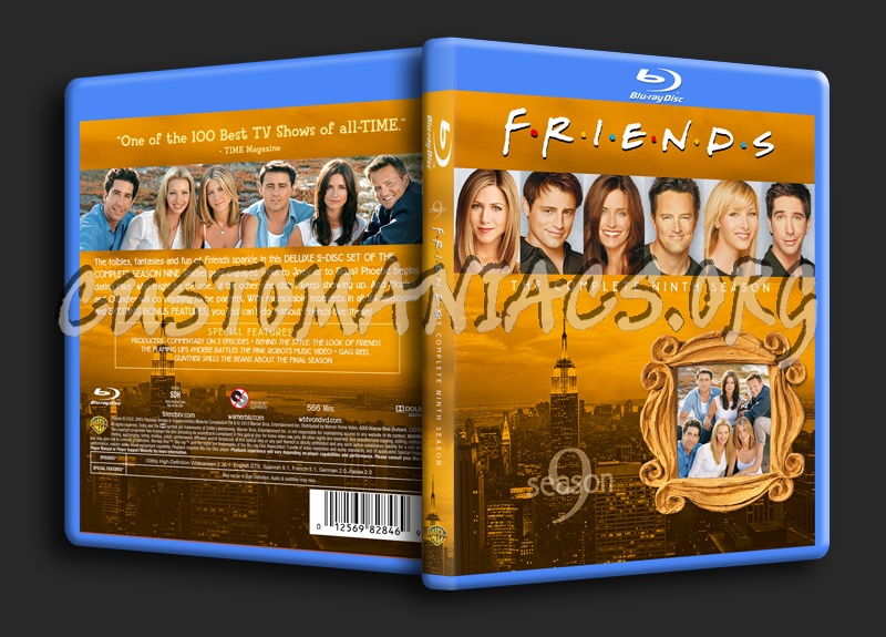 Friends Season 9 blu-ray cover - DVD Covers & Labels by