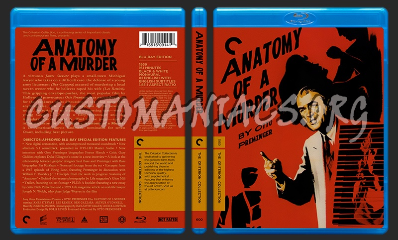 600 - Anatomy of A Murder blu-ray cover - DVD Covers & Labels by ...