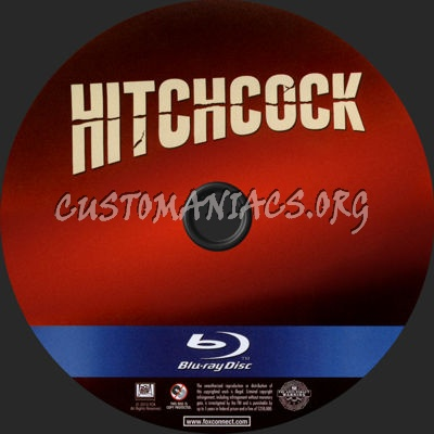 Hitchcock blu-ray label