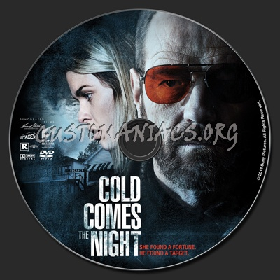 Cold Comes The Night dvd label