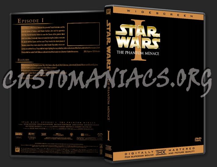 Star Wars Template dvd label