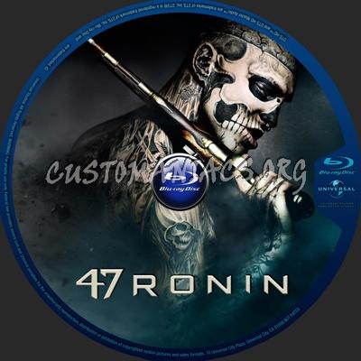 47 Ronin blu-ray label