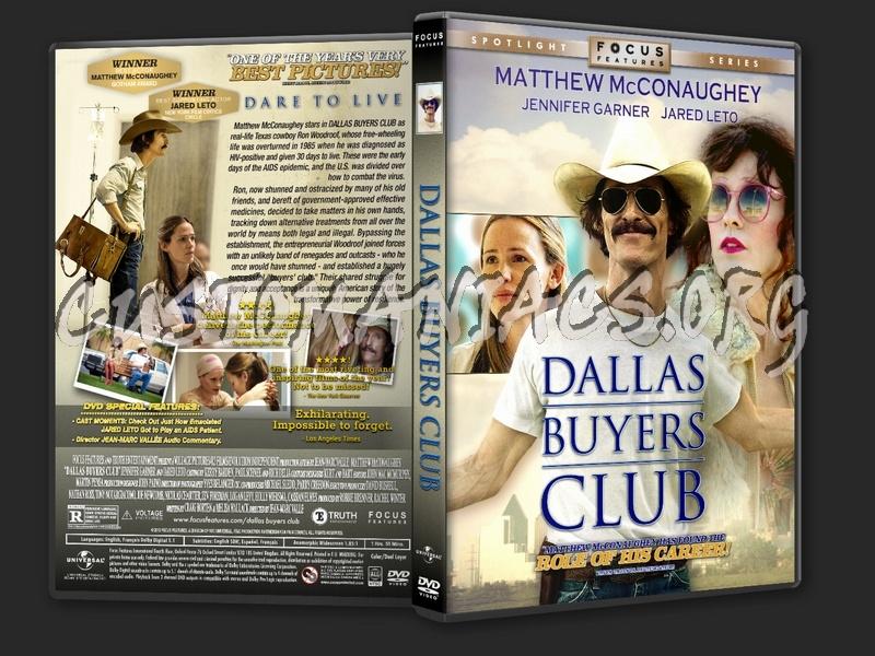Dallas Buyers Club (2013) dvd cover - DVD Covers & Labels ...  Dallas