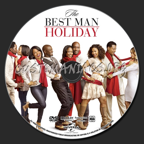 The Best Man Holiday dvd label