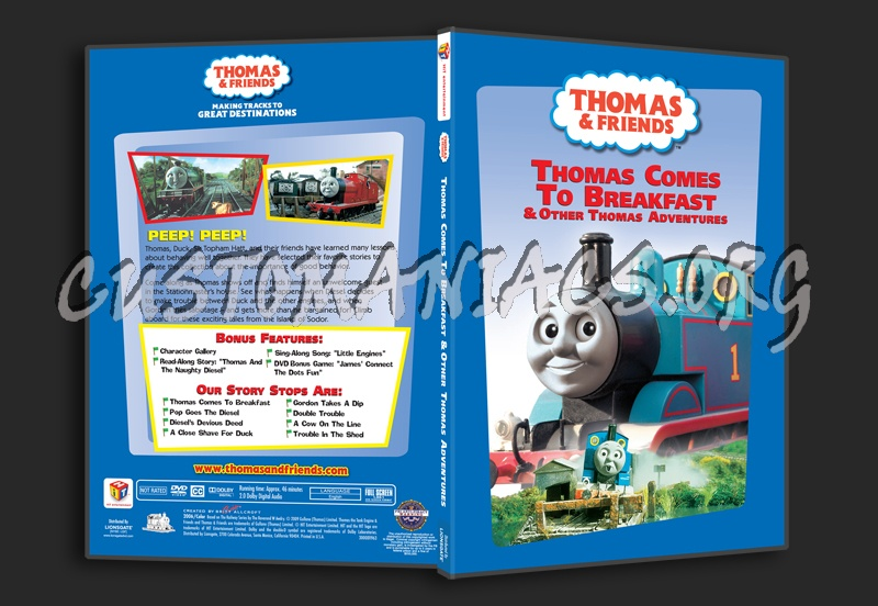 Thomas Amp Friends Comes To Breakfast DVD Covers Labels By