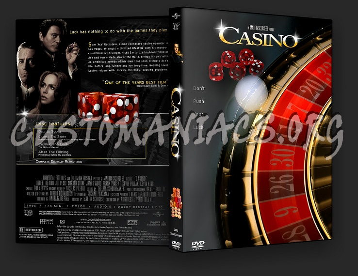 Casino dvd cover