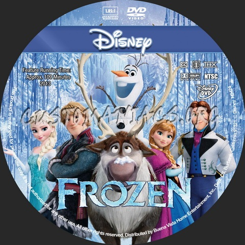 Frozen - Animation Collection dvd cover