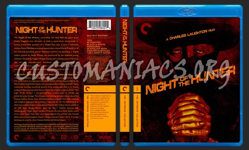 541 - Night of The Hunter blu-ray cover