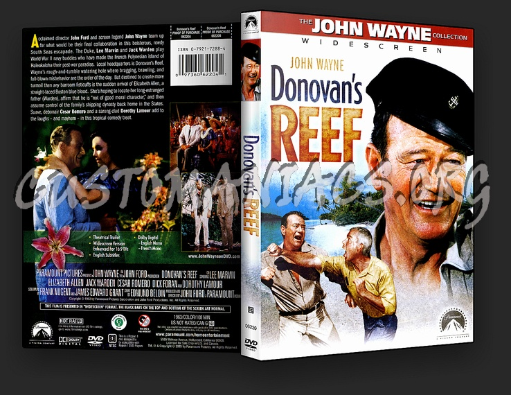 Donovan's Reef dvd cover