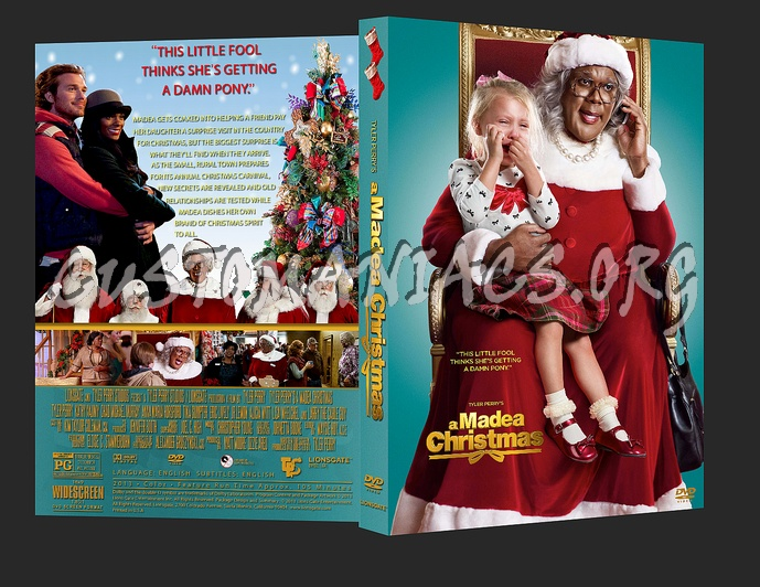 Madea Christmas Full Play.Tyler Perry S A Madea Christmas Dvd Cover Dvd Covers