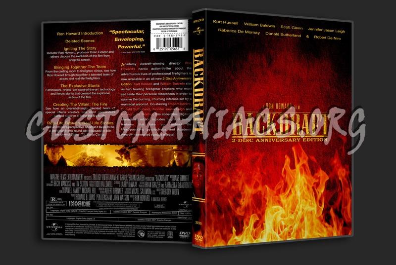 Backdraft dvd cover