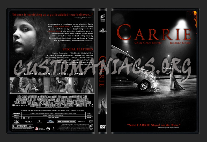 Carrie dvd cover