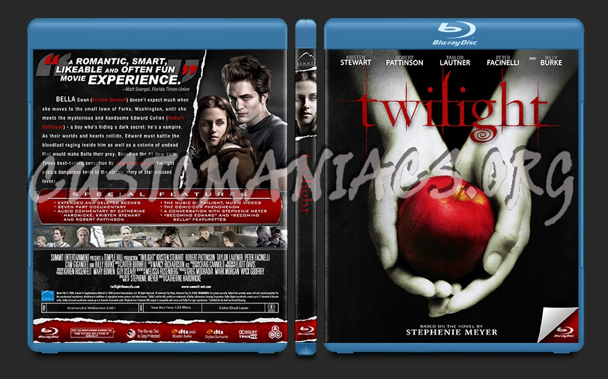 Twilight blu-ray cover