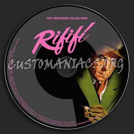 115 - Rififi dvd label