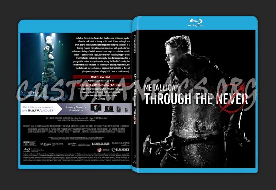 Metallica: Through The Never blu-ray cover