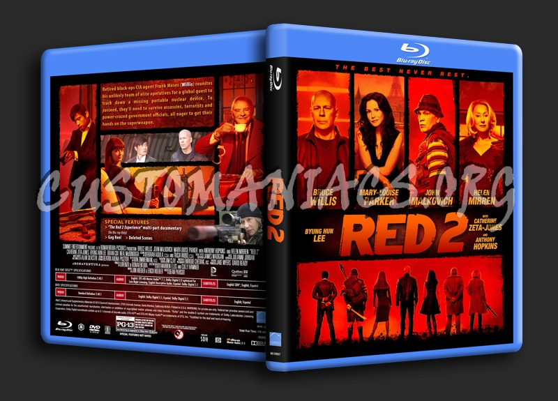 Red 2 blu-ray cover