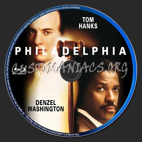 Philadelphia blu-ray label