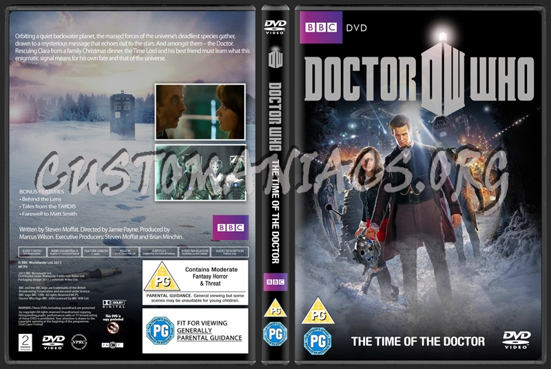 Doctor Who The Time Of The Doctor dvd cover
