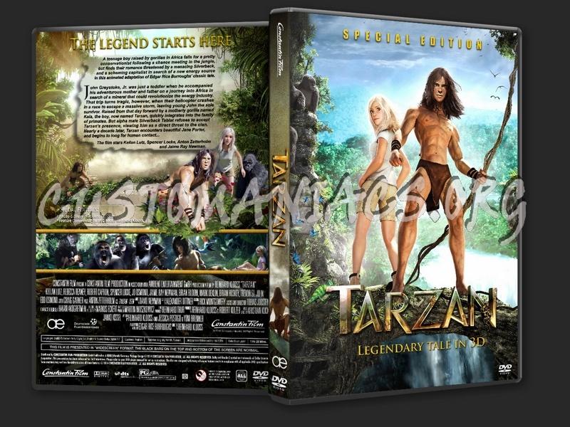 Tarzan 2 Dvd Tarzan 2013 Dvd Cover