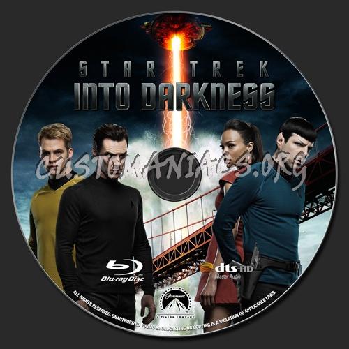 Star Trek - Into Darkness blu-ray label