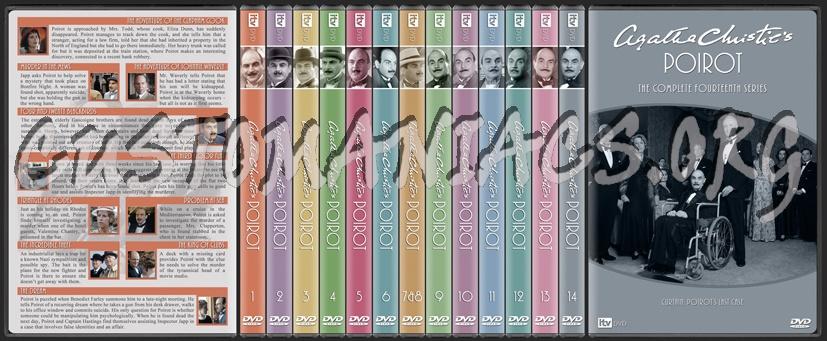 Agatha Christie's Poirot dvd cover