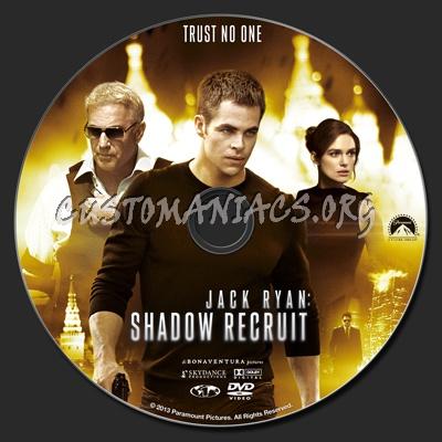 Jack Ryan: Shadow Recruit dvd label
