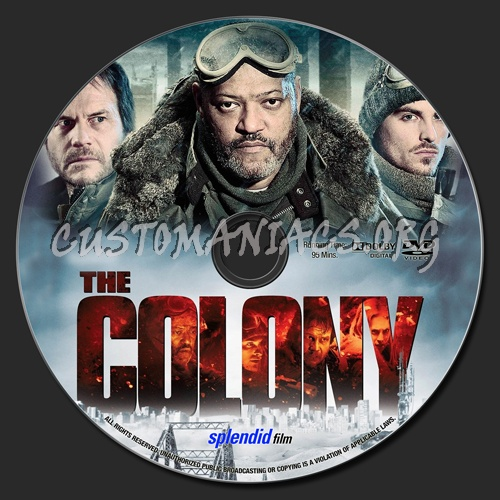The Colony dvd label