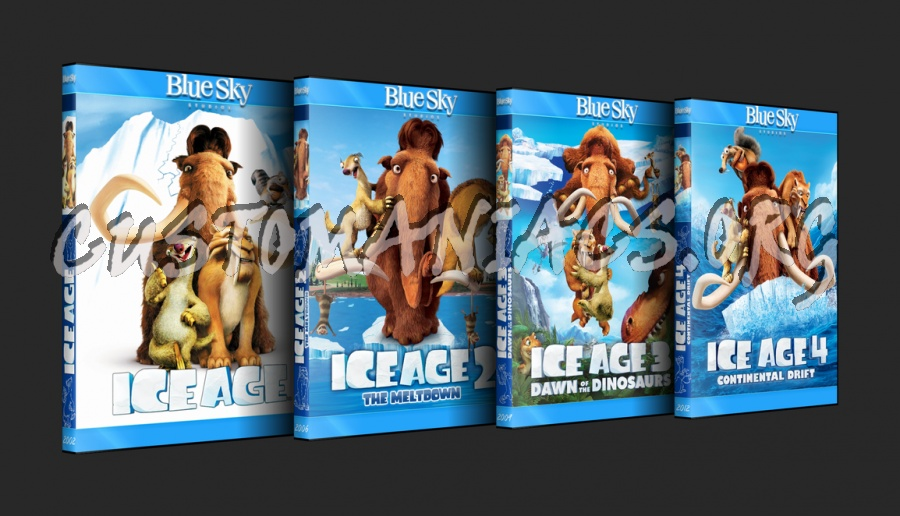Ice Age 2: The Meltdown - Animation Collection dvd cover