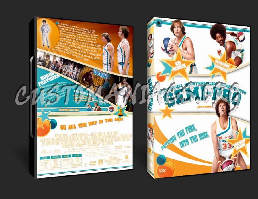 Semi-Pro dvd cover