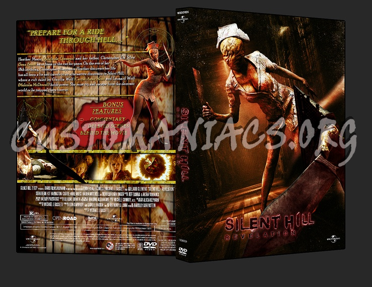 Silent Hill Revelation 3d Dvd Cover Dvd Covers Labels By Customaniacs Id 203190 Free Download Highres Dvd Cover