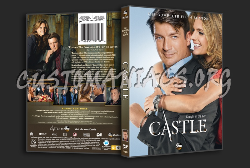 Castle Season 5 dvd cover