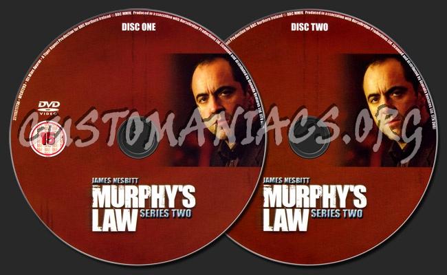 Murphy's Law Series 2 dvd label