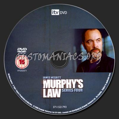 Murphy's Law Series 4 dvd label