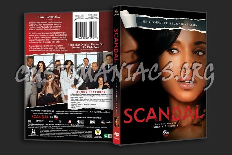 season 2 dvd cover share this link scandal season 2