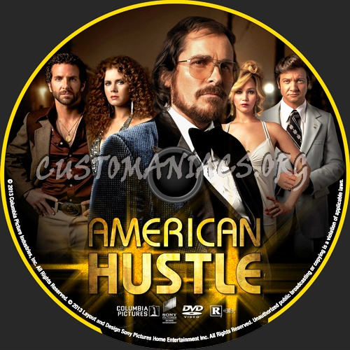 American Hustle 2013 Dvd Label Dvd Covers Labels By Customaniacs Id 203785 Free Download Highres Dvd Label