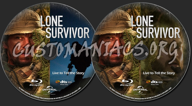 ImageSpace - Lone Survivor Blu Ray Cover | gmispace com