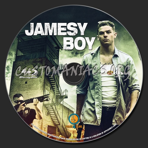 Jamesy Boy blu-ray label - DVD Covers & Labels by