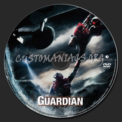 The Guardian dvd label