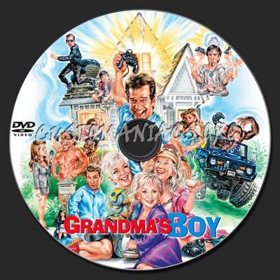 Grandma's Boy dvd label