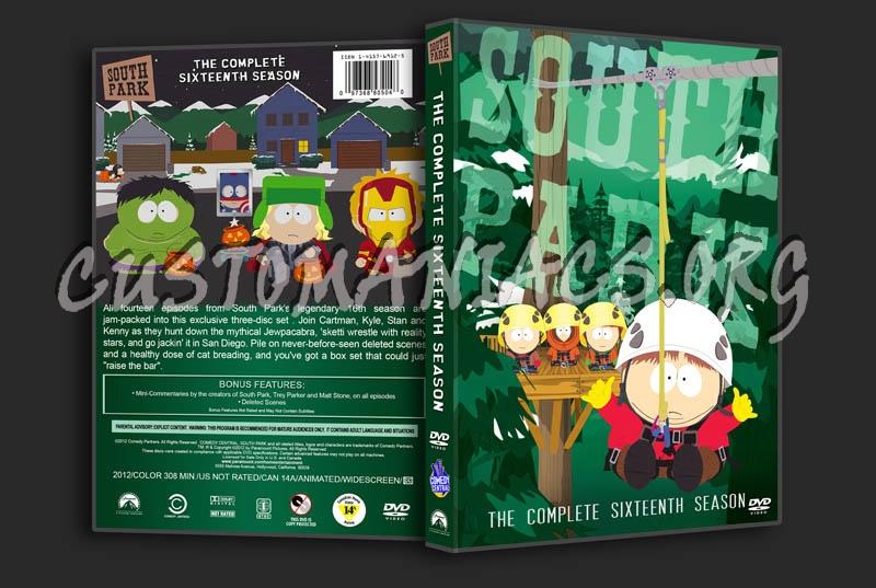 South Park - Season 16 dvd cover