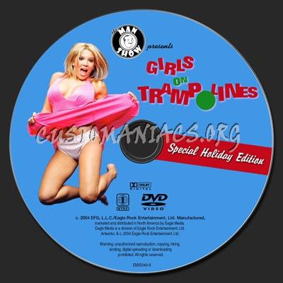 Girls on Trampolines dvd label
