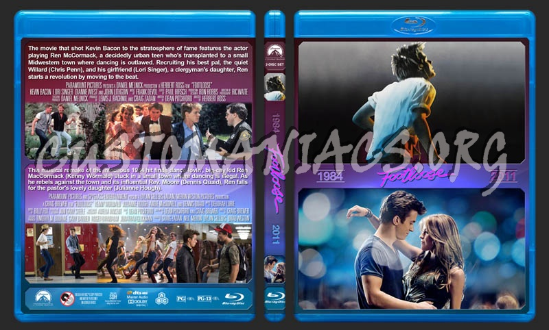 Footloose Double Feature blu-ray cover