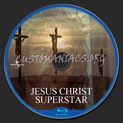 Jesus Christ Superstar blu-ray label