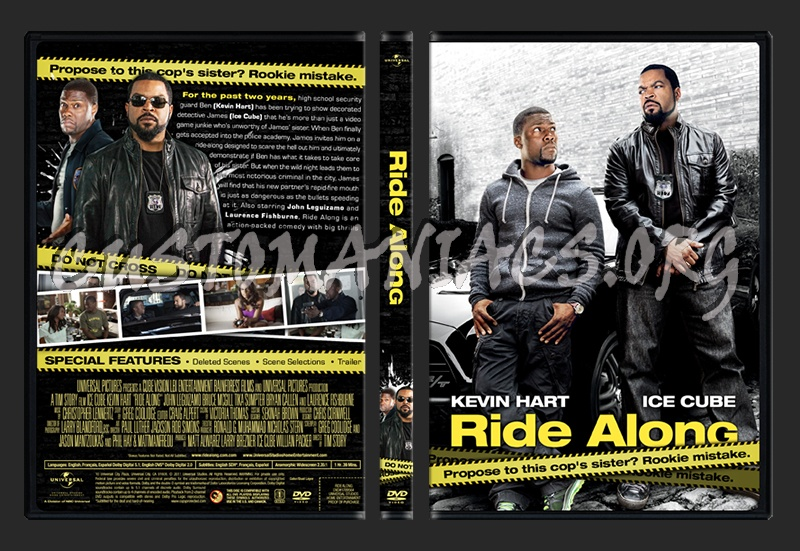 Ride Along dvd cover