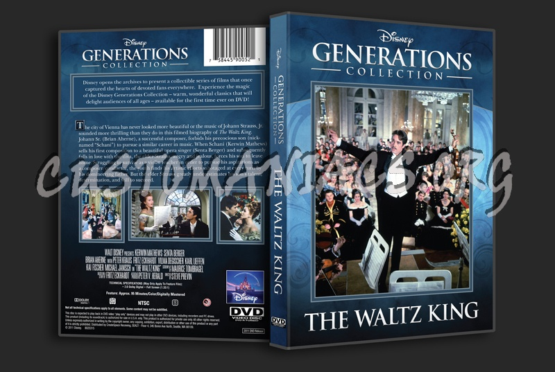 The Waltz King dvd cover