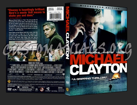 Michael Clayton dvd cover