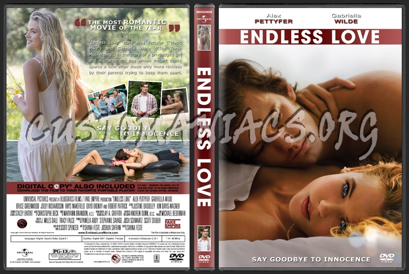 Endless Love dvd cover