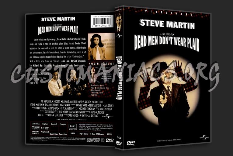 Dead Men Don't Wear Plaid dvd cover