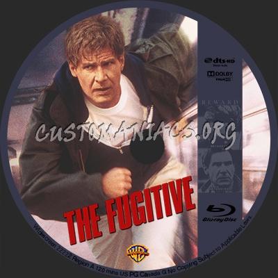 Fugitive blu-ray label